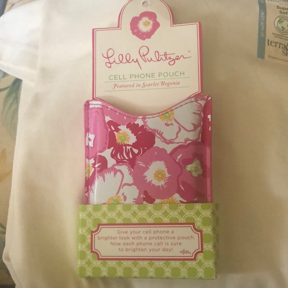 Lilly Pulitzer cell phone cover new